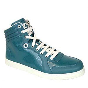 Gucci Aqua GG Imprime High top Sneakers