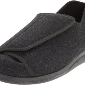 Foamtreads Men's Doctor, Charcoal Wool