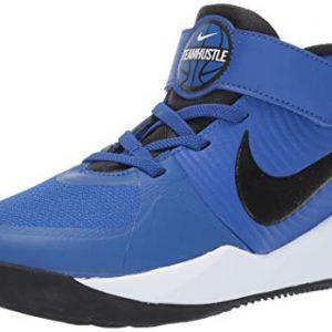 Nike Unisex-Kid's Team Hustle D 9 (PS) Sneaker, Game Royal/Black