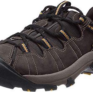 KEEN Men's Targhee II Hiking Shoe, Raven/Tawny Olive