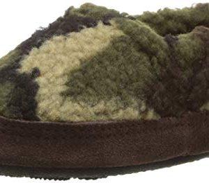 Acorn Kids Moc Slipper, camouflage, 5-6 Standard US Width