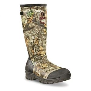 Guide Gear Men's Ankle Fit Insulated Rubber Boots