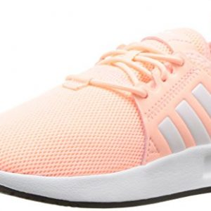 adidas Originals Unisex X_PLR EL Running Shoe, Clear Orange White