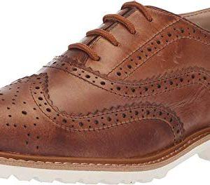 Kenneth Cole REACTION Kids Boy's Wing Brogue Leather