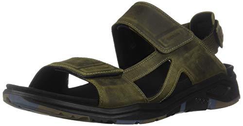 ECCO Men's X-Trinsic Sandal Tarmac Leather