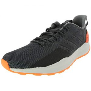 adidas Men's Questar Trail Running Shoe, Carbon/Black/Grey