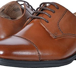 Florsheim Kids Boys' Reveal Cap Toe Oxford Jr, Cognac