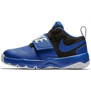 Nike Boy's Team Hustle D 8 (PS) Pre School Basketball Shoe Game Royal