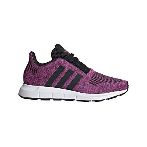 adidas Originals Kids Girl's Swift Run J (Big Kid) Shock Pink/White/Black