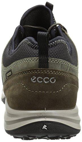 ECCO Men's Esphino GORE-TEX waterproof Hiking shoe ECCO Men's Esphino GORE-TEX waterproof Hiking shoe, Tarmac/Tarmac, 46 EU / 12-12.5 US.