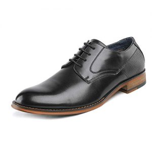 Bruno Marc Men's Dress Shoes Formal Oxford Paul_2 Black