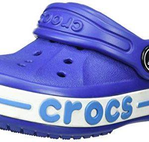 Crocs Kids Bayaband Clog, Cerulean Blue
