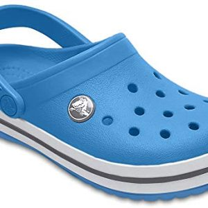 Crocs Kids' Crocband Clog, Bright Cobalt/Charcoal