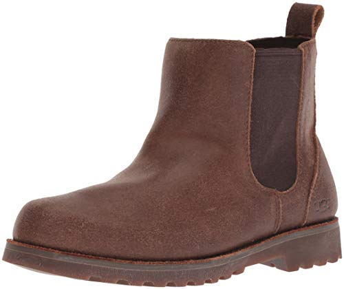 UGG Unisex-Kids K Callum Chelsea Boot, Chocolate