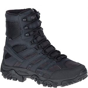 "Merrell Mens Moab 2 8"" Tactical Wp, Color: Black"