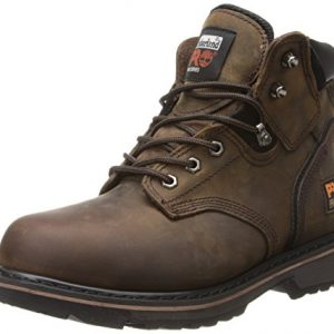 "Timberland PRO Men's Pitboss 6"" Steel-Toe Boot, Brown"