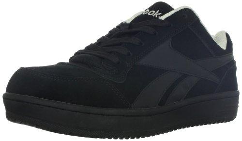 Reebok Work Men's Soyay Safety Shoe,Black Oxford