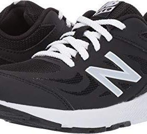 New Balance Boys' 519v1 Running Shoe, BLACK