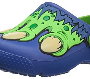 crocs Unisex Kids Fun Lab Creature Clog K, Blue Jean