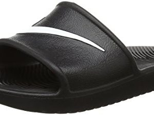 Nike Men's Kawa Shower Slide Sandals-Black/White