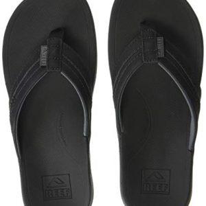 Reef Men's Ortho-Bounce Coast Sandals, Black