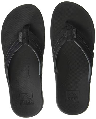 Reef Men's Ortho-Bounce Coast Sandals, Black