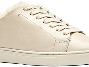 FRYE Women's Ivy Shearling Low Lace Sneaker