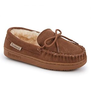 Bearpaw New Boys Moc Youth Slipper Hickory