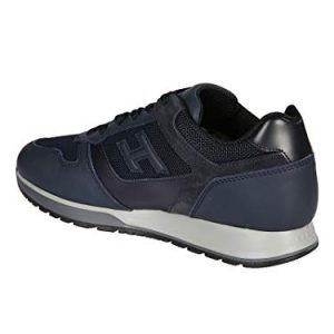 Hogan Luxury Fashion Mens Blue Sneakers | Season Permanent