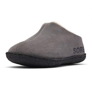 SOREL - Youth Falcon Ridge II Suede Slippers with Fleece Lining for Kids
