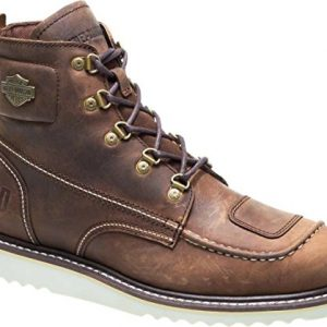 HARLEY-DAVIDSON Men's Hagerman Motorcycle Boot, Brown