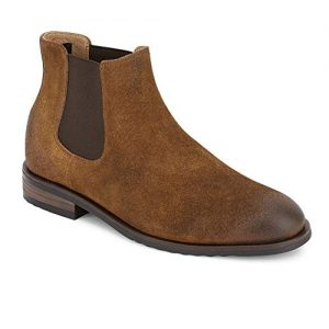 Lucky Brand Men's Cohen Ankle Boot, Dark tan Suede