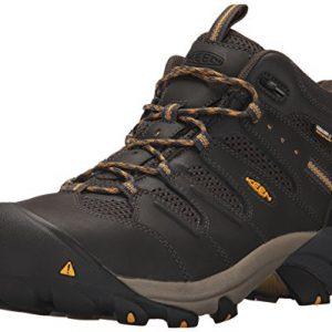 KEEN Utility Men's Lansing Mid Steel Toe Waterproof Work Boot