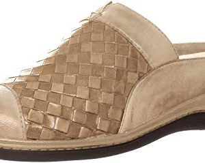 SoftWalk San Marcos Woven - Women's Clogs Cement