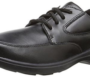 Hush Puppies Kids' Unisex Ty Dress Shoe, Black
