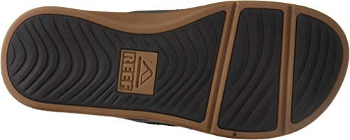 Reef Men's Ortho-Bounce Coast Sandals, Black Reef Men's Ortho-Bounce Coast Sandals, Black, 12.
