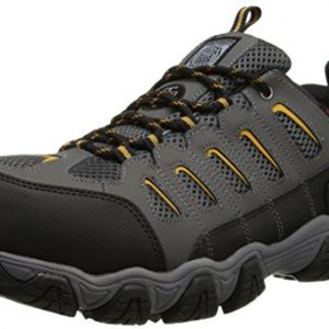 Skechers for Work Men's Blais Hiking Shoe, Dark Gray