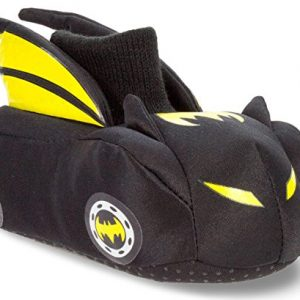 Batman Batmobile Toddler Little Kid Sock Top Slippers