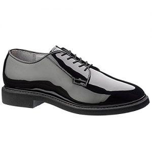 Maelstrom Men's High Glossy Oxford Shoe, Black
