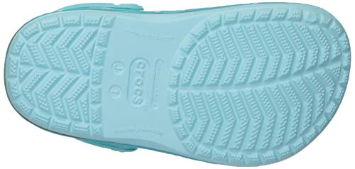 Crocs Kids' Fun Lab Mermaid Band Clog, Ice Blue Crocs Kids' Fun Lab Mermaid Band Clog, Ice Blue, 9 M US Toddler.