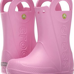 Crocs Kids' Handle It Rain Boots, Easy On for Toddlers, Boys