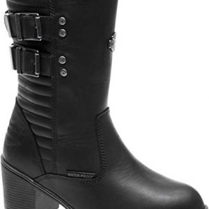 Harley-Davidson Women's Kirkley 8-Inch WP Motorcycle Boots