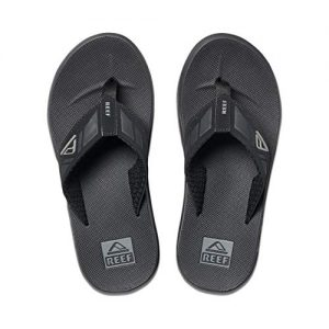 Reef Mens Phantom Sandals, Black