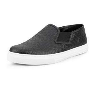 Gucci Men's Dublin Microguccissima Leather Signature Slip-On Sneaker