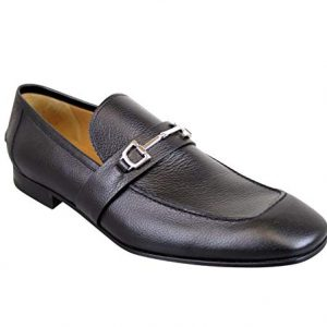 Gucci Horsebit Black Leather Loafer