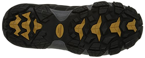 Skechers for Work Men's Blais Hiking Shoe, Dark Gray Product measurements had been taken utilizing dimension 9, width D - Medium. Please be aware that measurements could differ by dimension.
