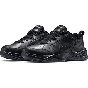 Nike Air Monarch IV (4E) - Black / Black