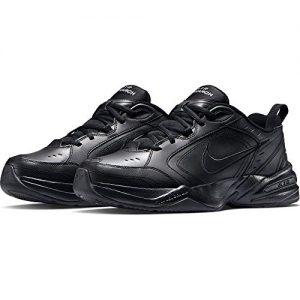 Nike Air Monarch IV (4E) - Black / Black