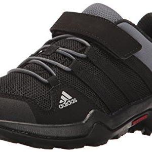 adidas outdoor Kids' Terrex AX2R CF Hiking Boot, Black/Black/Onix