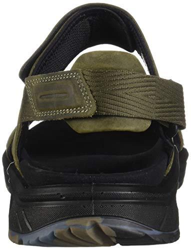 ECCO Men's X-Trinsic Sandal Tarmac Leather ECCO Men's X-Trinsic Sandal Tarmac Leather 45 M EU (11-11.5 US).